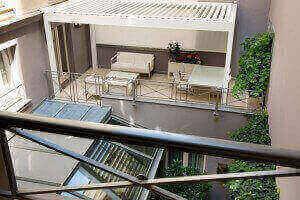 Terrasse Chambre Unique