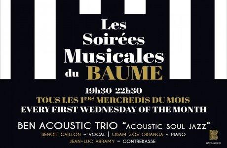 Les soirées musicales du Baume